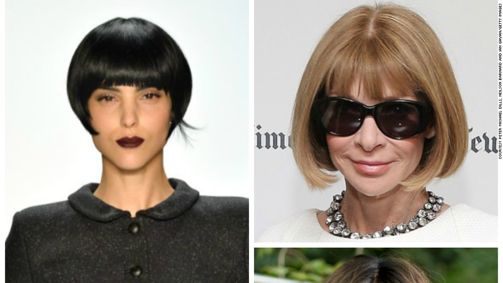 Victoria Beckham, Mary Portas and American Vogue editor Anna Wintour are fans and model Jourdan Dunn softens the severity of the bob hairstyle with this season's favorite, the wob (wavy bob).