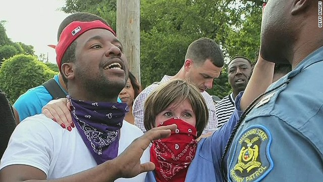 Pastor on 'spiritual warfare' in Ferguson