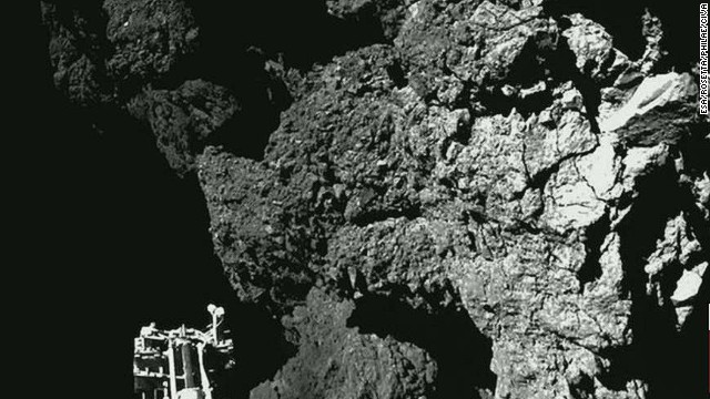 Leroy Chiao: Philae's comet landing is amazing