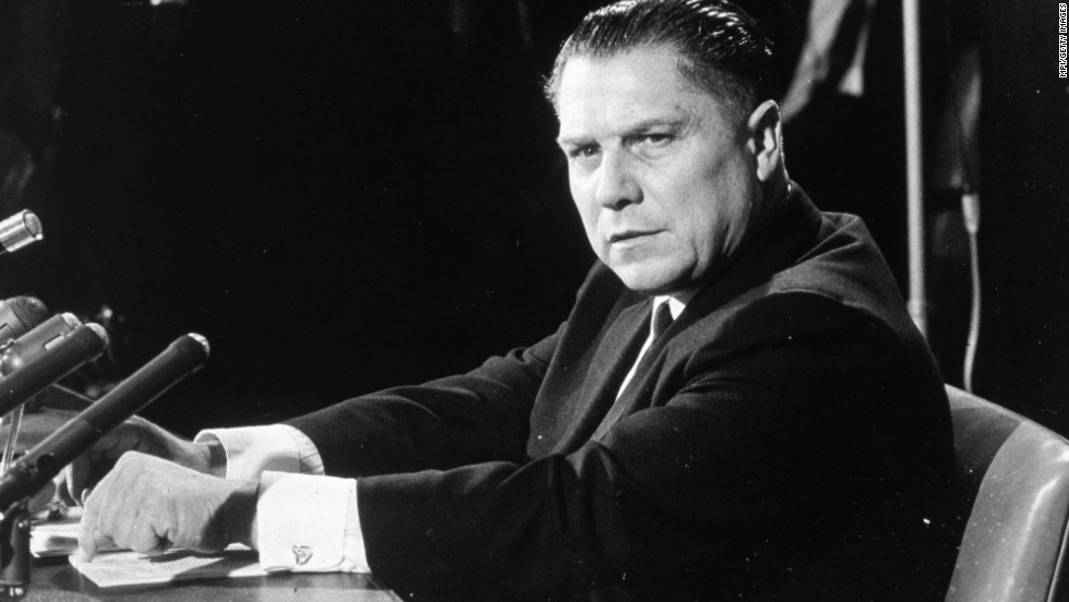 Call it good karma. Before Nixon got his own pardon, he pardoned several others, including infamous union leader Jimmy Hoffa in 1971. Hoffa had been convicted of jury tampering and fraud. But the pardon didn't keep him out of trouble, as Hoffa vanished in 1974. His body was never found.