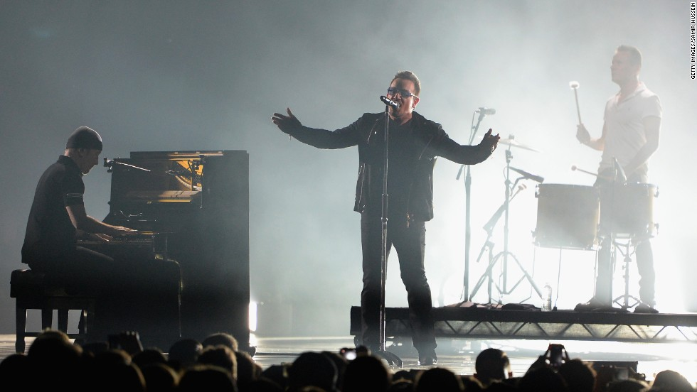 Bono may never play guitar again