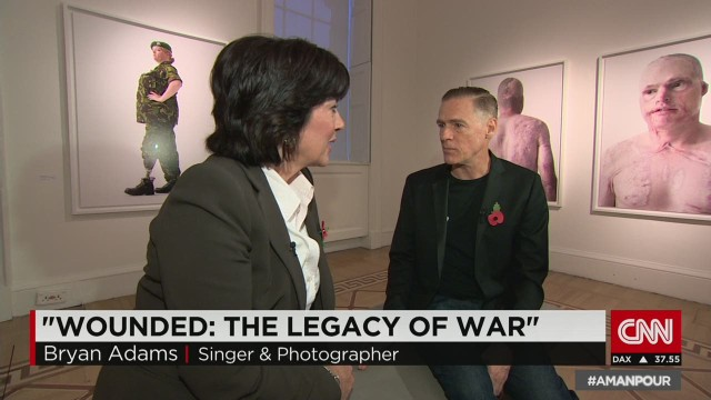 Bryan Adams captures the legacy of war