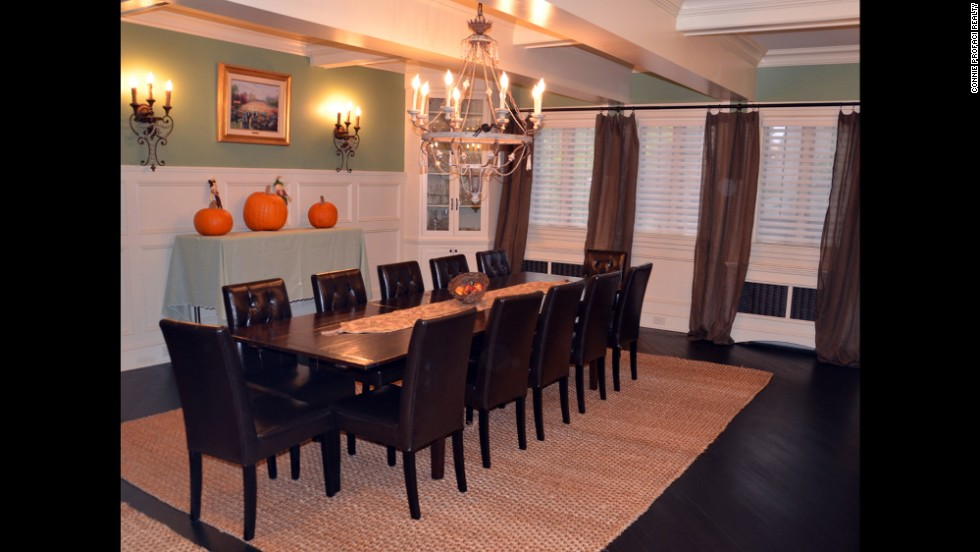In addition to the eat-in kitchen, the home also features a formal dining room.
