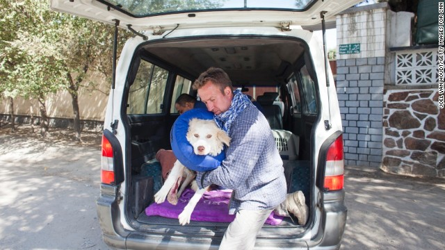 Pen Farthing, a former Royal Marine Sergeant, is reuniting soldiers with the stray dogs they befriend while serving in Afghanistan. His nonprofit, Nowzad Dogs -- named for the stray Farthing rescued during his tour -- has helped more than 700 soldiers from eight countries.
