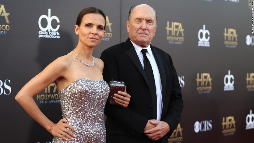 Luciana Pedraza and actor Robert Duvall