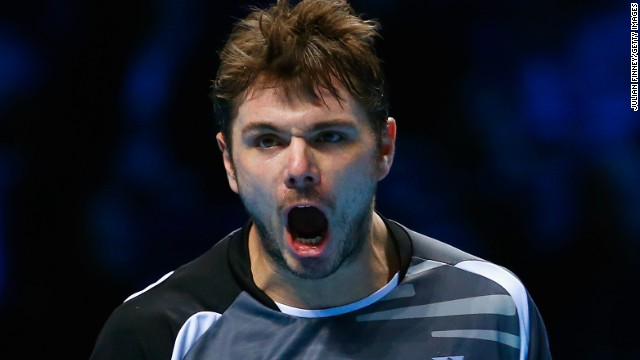 Stanislas Wawrinka joined Djokovic in the semifinals with a three-set win over Tomas Berdych.
