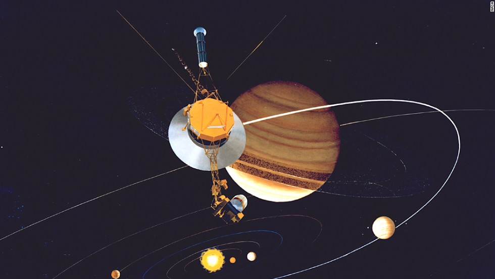 "Of all the NASA missions, none has visited as many planets, rings and moons as the twin <a href=""http://voyager.jpl.nasa.gov/index.html"" target=""_blank"">Voyager 1 and Voyager 2 spacecraft</a>, which were launched in 1977. Each probe is much farther away from Earth and the sun than Pluto. In August 2012, Voyager 1 made the historic entry into interstellar space, the region between stars. Scientists hope to learn more about this region when Voyager 2 reaches interstellar space. Both spacecraft are still sending scientific information back to NASA."