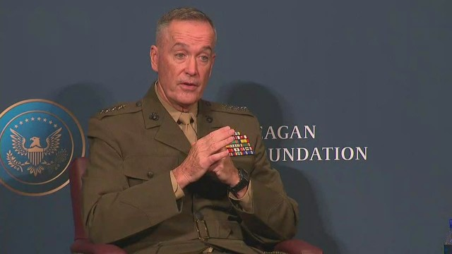 U.S. General's warning about troops