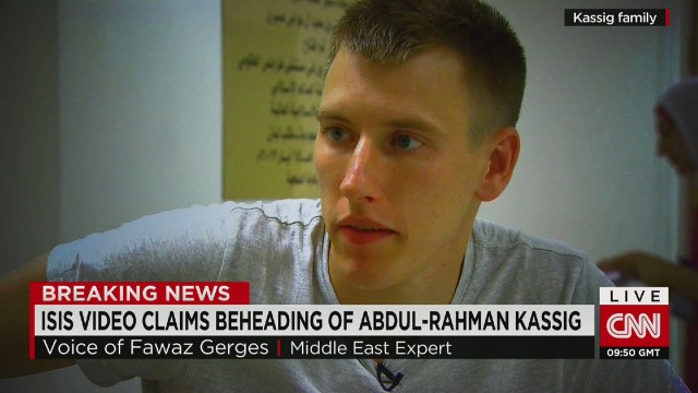 intv peter kassig beheaded fawaz gerges_00005107.jpg