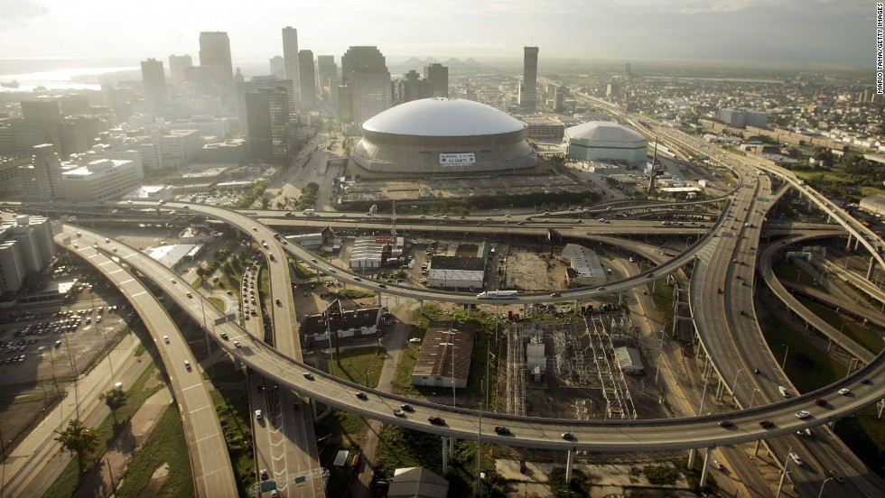 The Superdome -- which effectively replaced Tulane Stadium -- took over the role of Sugar Bowl host and has been the venue for seven Super Bowls since opening in 1975.