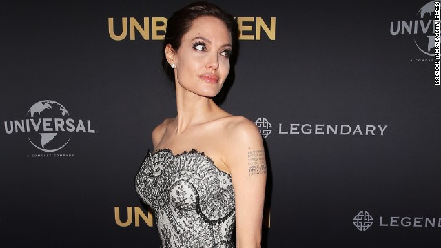 Angelina Jolie arrives at the world premiere of Unbroken at the State Theatre on November 17, 2014 in Sydney, Australia.
