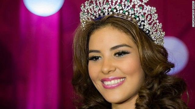 This recent undated file photo shows María José Alvarado Muñoz, Miss Honduras World 2014, who police in Tegucigalpa have confirmed is missing November 16, 2014.
