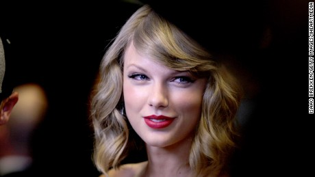 Recording artist Taylor Swift attends the 2014 iHeartRadio Music Festival at the MGM Grand Garden in Las Vegas, Nevada, on September 19.