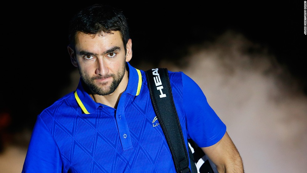 The four titles he won in 2014 enabled Cilic to play in last week's season-ending ATP World Tour Finals in London, but he failed to win any of his matches in a tough group involving Novak Djokovic, Stan Wawrinka and Tomas Berdych.