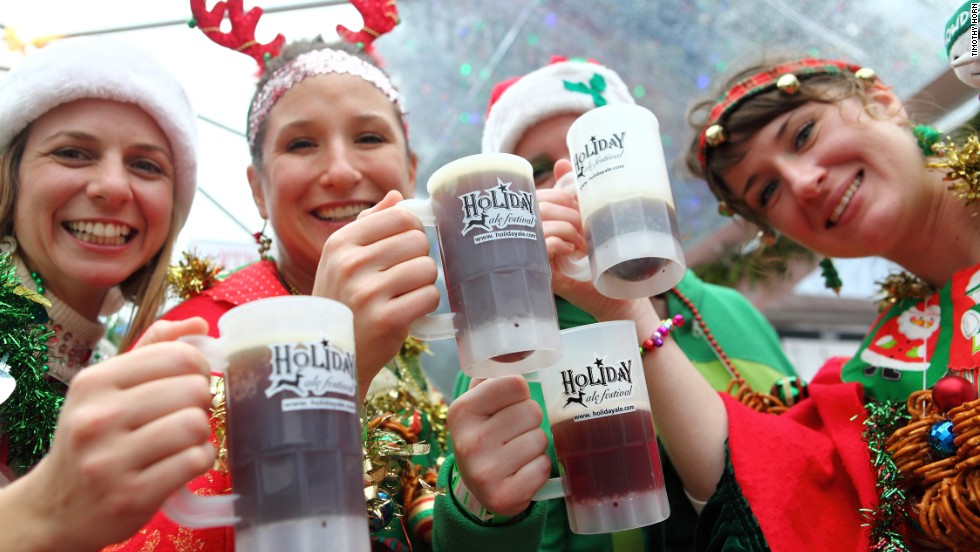More than 15,000 attend the Holiday Ale Fest in December. There's no official count, but experts say Portland hosts more than a hundred beer-related festivals a year.