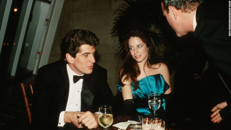 The late John F. Kennedy Jr. (seen here with then-girlfriend Christina Haag circa 1988 in New York) was neither a movie nor TV star, but his dashing good looks earned him the title in 1988.
