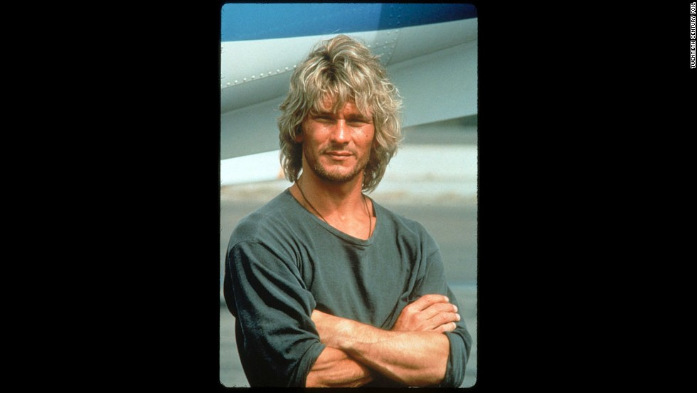 """Dirty Dancing"" made him a big star, but the late Patrick Swayze was still riding high in 1991 with ""Point Break"" when he earned the honor."