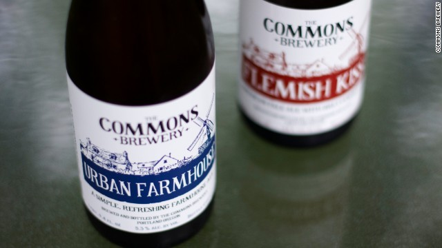 Portland's Commons Brewery started with a seven-barrel system brewing farmhouse ales.