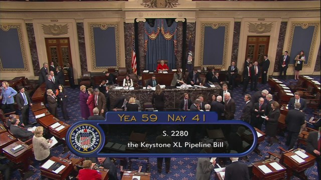 Wailing, singing follow Keystone vote