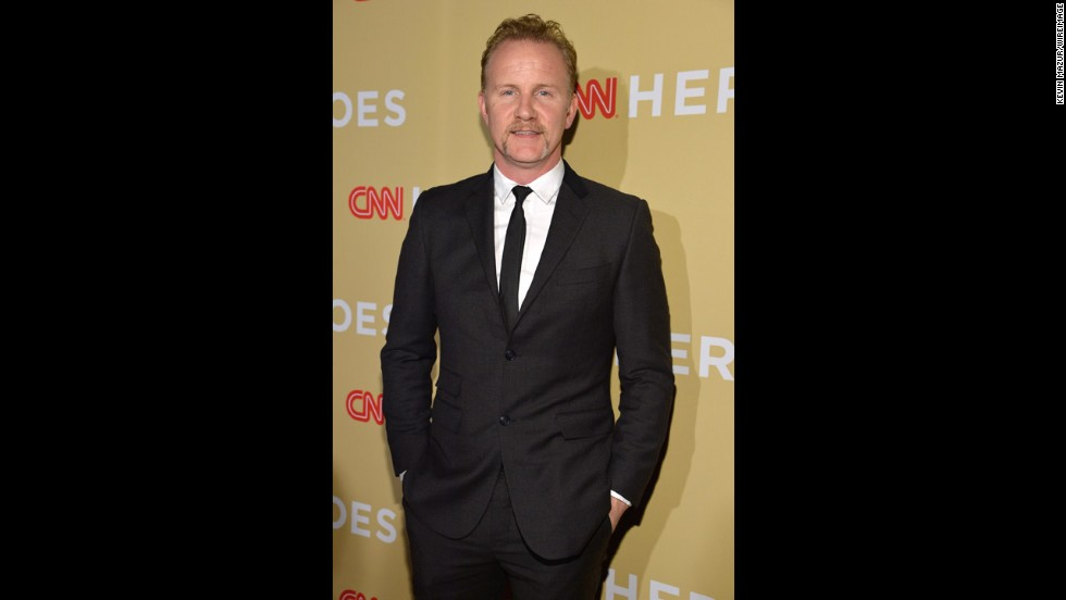 "Morgan Spurlock, filmmaker and host of CNN's ""Inside Man"""