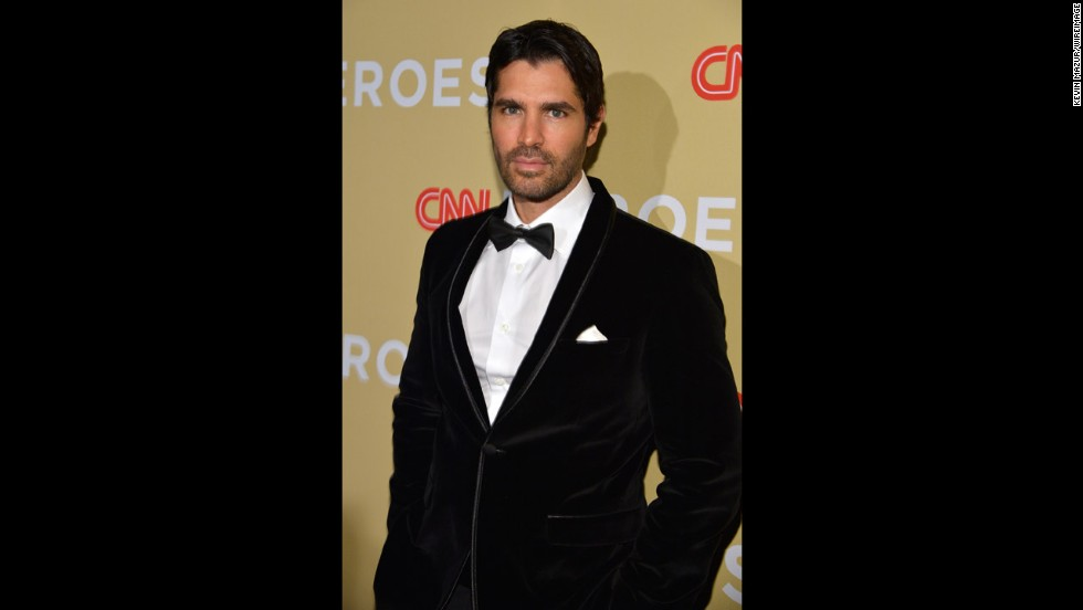 Model, singer and actor Eduardo Verastegui