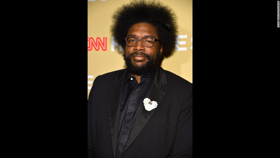 Questlove, drummer of The Roots