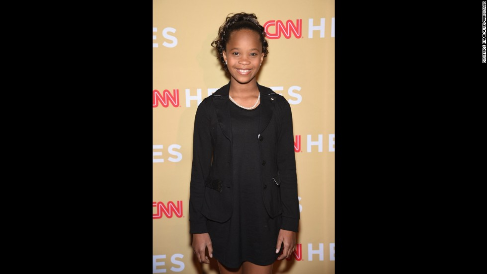 Actress Quvenzhané Wallis