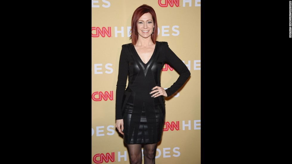 Actress Carrie Preston