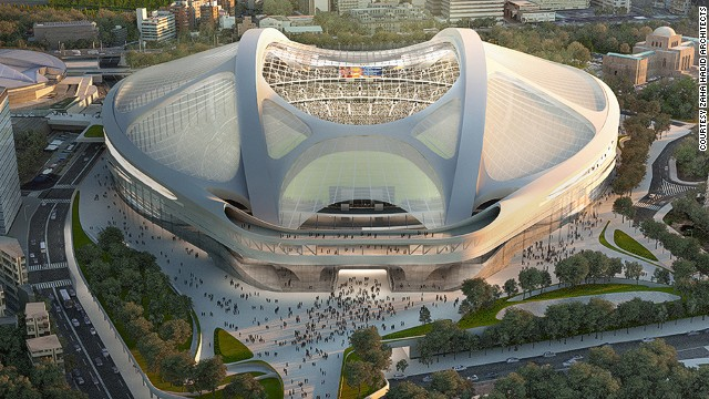 Japan cancels controversial Olympic stadium