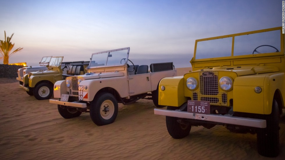 Platinum Heritage operates a small fleet of cheerfully painted classic vehicles.