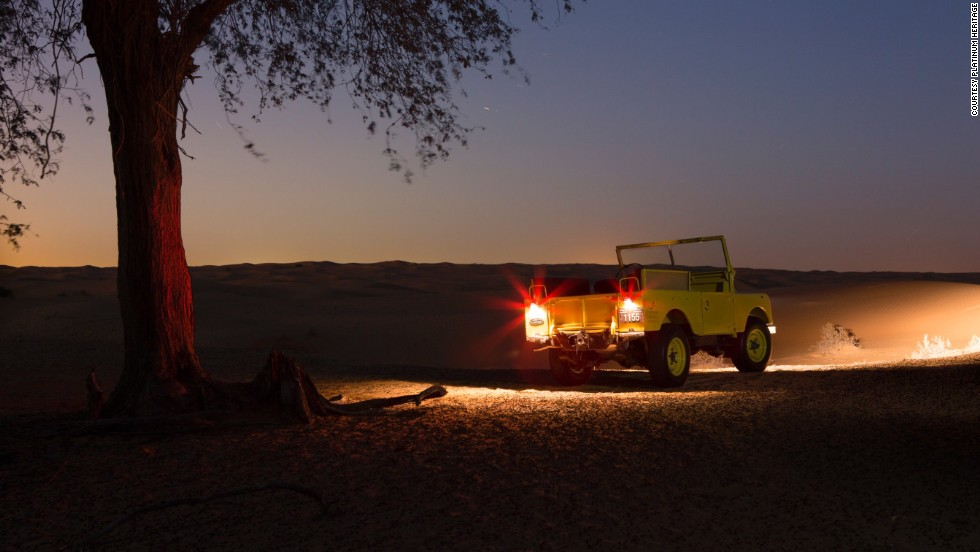 Platinum Heritage organizes private night safaris on the trail of Dubai's nocturnal wildlife.
