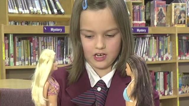 Kids react to anti-Barbie doll