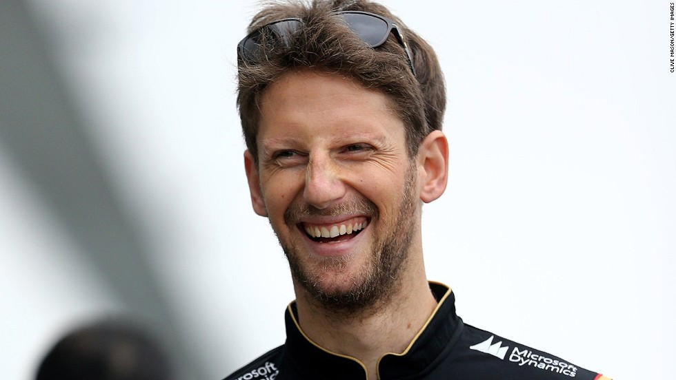 Romain Grosjean has plenty to smile about after Lotus confirmed, just ahead of the final race of 2014 in Abu Dhabi, it is retaining its driver line-up of the Frenchman and Pastor Maldonado for 2015.
