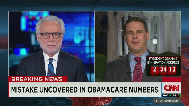 Mistake Uncovered in Obamacare Numbers _00005703.jpg