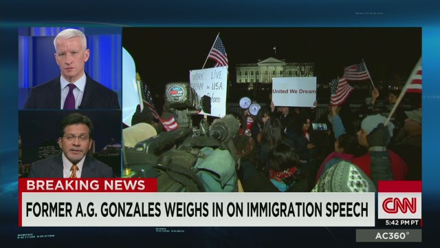 ac alberto gonzales on pres obama immigration action_00011406.jpg