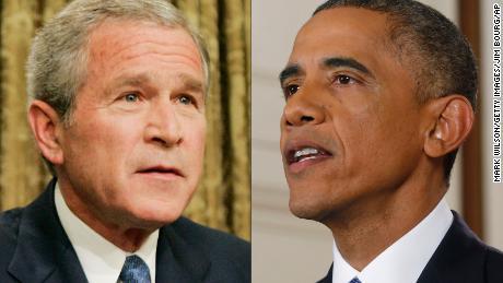 President Bush VS President Obama
