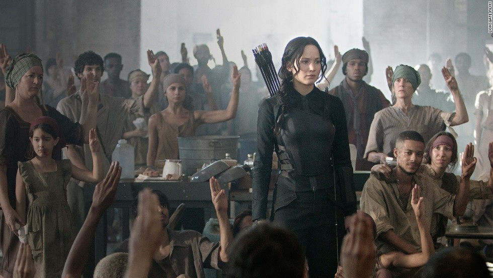 "Jennifer Lawrence is back as archer and freedom fighter Katniss Everdeen in ""The Hunger Games: Mockingjay, Part 1"" and coming soon, the final film, ""Part 2."""