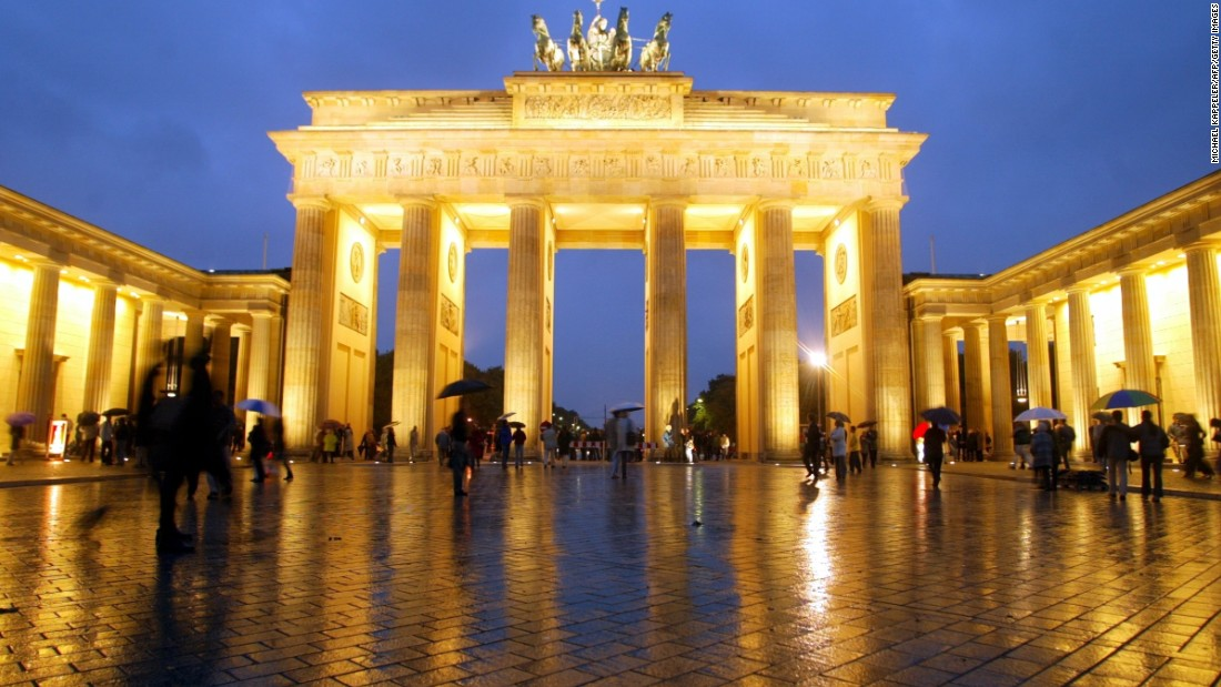 It's not just attractions like Berlin's Brandenburg Gate that draw visitors to Germany. The country ranks fourth for business travel spending.
