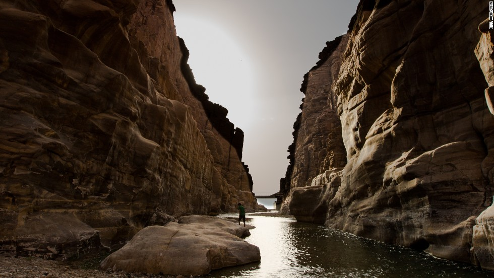 """The Wonder List"" crew goes walking along the streams of the Wadi Mujib canyon, which is on the eastern, Jordanian side of the Dead Sea. CNN Original series ""The Wonder List"" debuted in 2015 and kicks off its second season on March 20. Click through the gallery to see highlights from season 1."