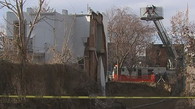 kdvr excavation causes home collapse next door