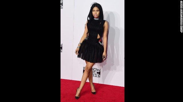 LOS ANGELES, CA - NOVEMBER 23: Singer Nicki Minaj attends the 2014 American Music Awards at Nokia Theatre L.A. Live on November 23, 2014 in Los Angeles, California. (Photo by Jason Merritt/Getty Images)
