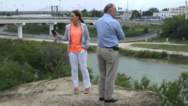 Reps. Michele Bachmann and Steve King visited the U.S.-Mexico border on November 21.