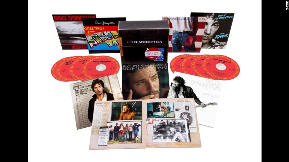 "<strong>For the Boss lover:</strong> Though other artists have had their work remastered and remastered again since the introduction of the CD, all but two of Bruce Springsteen's first seven albums remain in their original late-'80s editions. With ""The Album Collection, Vol. 1,"" Bruce and his colleagues have finally gotten around to cleaning up the other five. Even ""Nebraska"" has never sounded better. ($99.99 retail)"