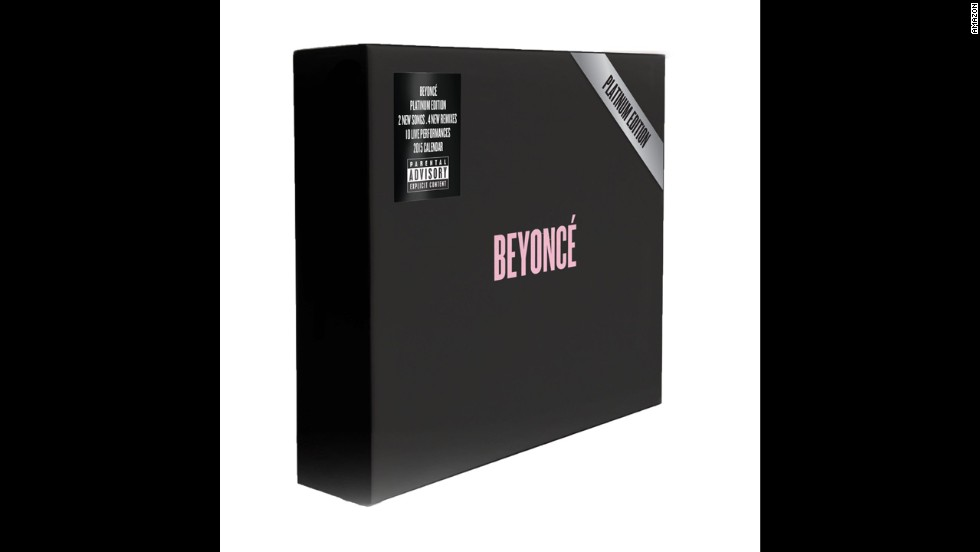 "<strong>For the Bey fan:</strong> Last year, Beyonce issued a surprise album straight to iTunes. This year, her<a href=""http://www.cnn.com/2014/11/04/showbiz/music/beyonce-new-album-box-set/""> ""secret"" release is a ""Platinum Edition"" box set</a> containing the 2013 CD, a six-song addition, a DVD of performances and a calendar. ($41.99)"