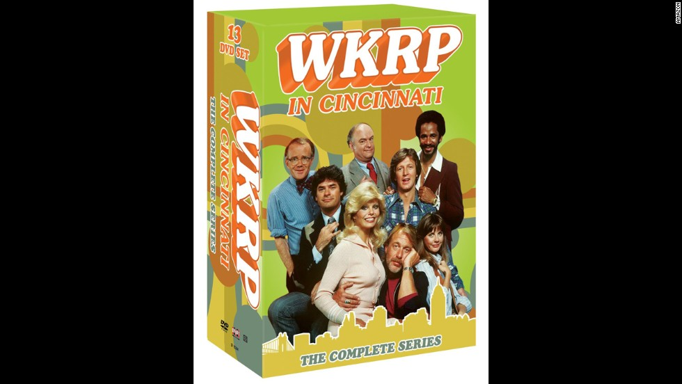 "<strong>For the sitcom fan:</strong> Baby, did you ever wonder whatever became of ""WKRP in Cincinnati"" with the original musical soundtrack? Wonder no longer; the complete run of the series is finally available on DVD. The show was renowned in its late-'70s prime, especially for <a href=""http://www.hulu.com/watch/322"" target=""_blank"">the ""Turkeys Away"" episode</a>. As God is my witness, you'll just have to watch. ($139.99)"
