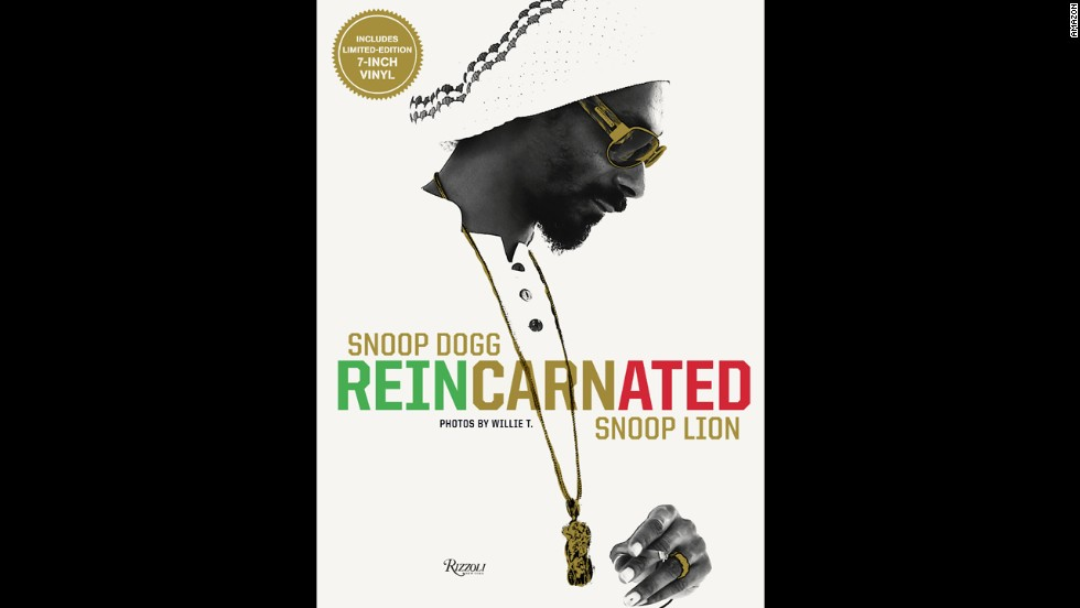 "<strong>For the love of Snoop:</strong> The former Snoop Dogg -- now Snoop Lion -- went through a metamorphosis when his friend Nate Dogg died. ""Reincarnated,"" a coffee table book (which goes along with an album and film of the same name) captures the process. ($39.95)"