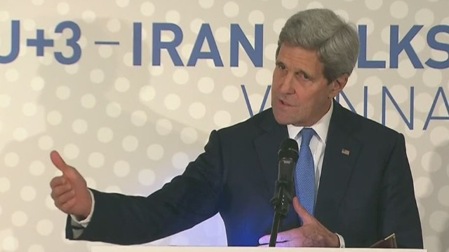 Kerry on Iran deal: 'Real progress' made