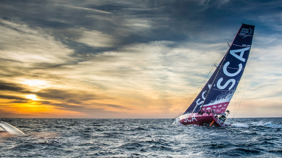 The 41-year-old has already set herself the role of mum on board as the oldest sailor on board Team SCA.