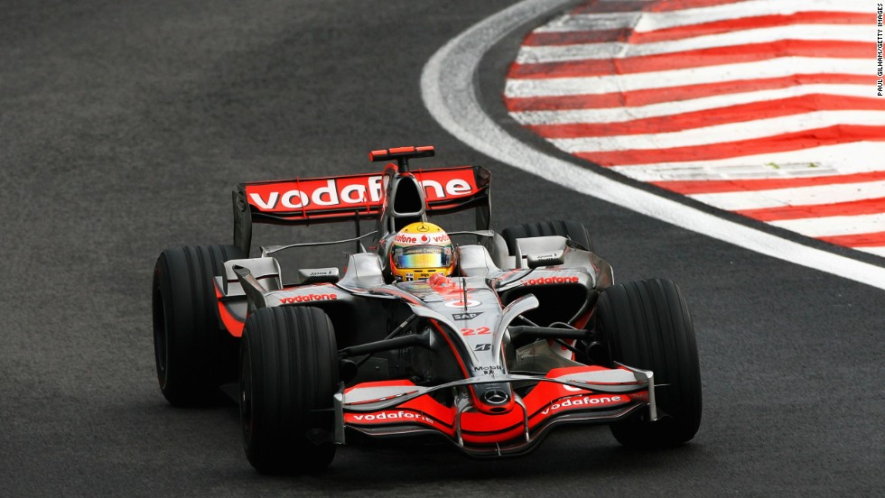 A late flurry of rain helped Hamilton to the 2008 crown. He denied Ferrari's Felipe Massa the title by a single point as he moved up to fifth position at the final corner of the Brazilian Grand Prix.
