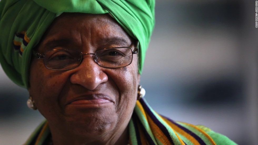 Ellen Johnson Sirleaf is 76 years old and has been President of Liberia since 2006. She is the first democratically elected female head of state in Africa.